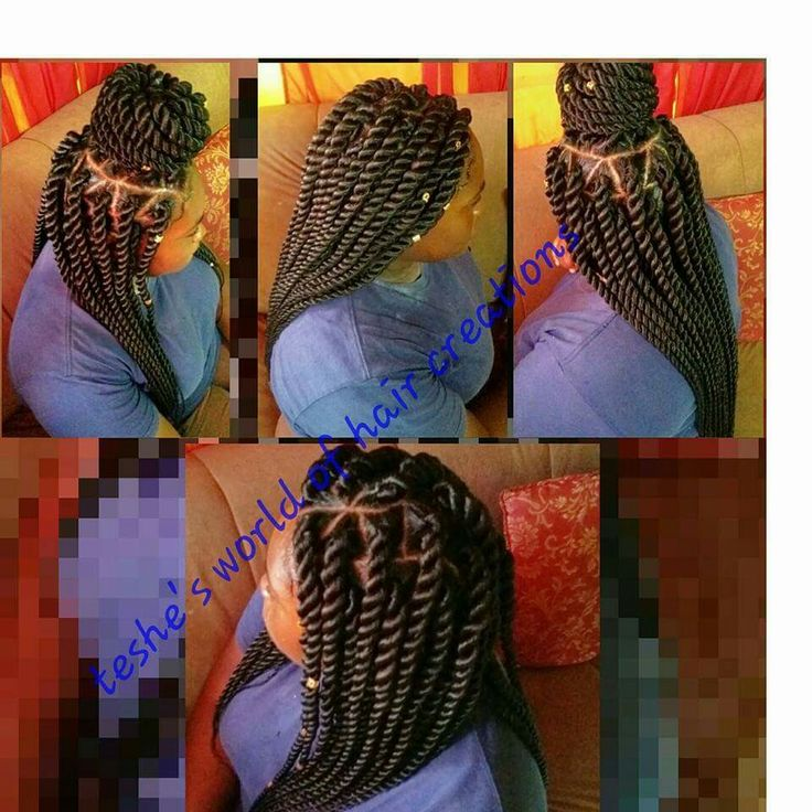 Jumbo rope twist...Xpression Hair.