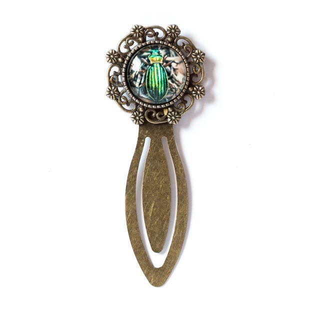 Zakładka z żuczkiem / Beetle Bookmark - Art-Of-Nature
