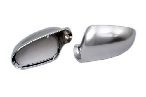 ==> [Free Shipping] Buy Best Styling R Line Style Silver Matt Chrome Side Mirror Cap Replacement L&R 2PCS for Golf MK5 for Jetta MK5 Durable Online with LOWEST Price | 32648556243