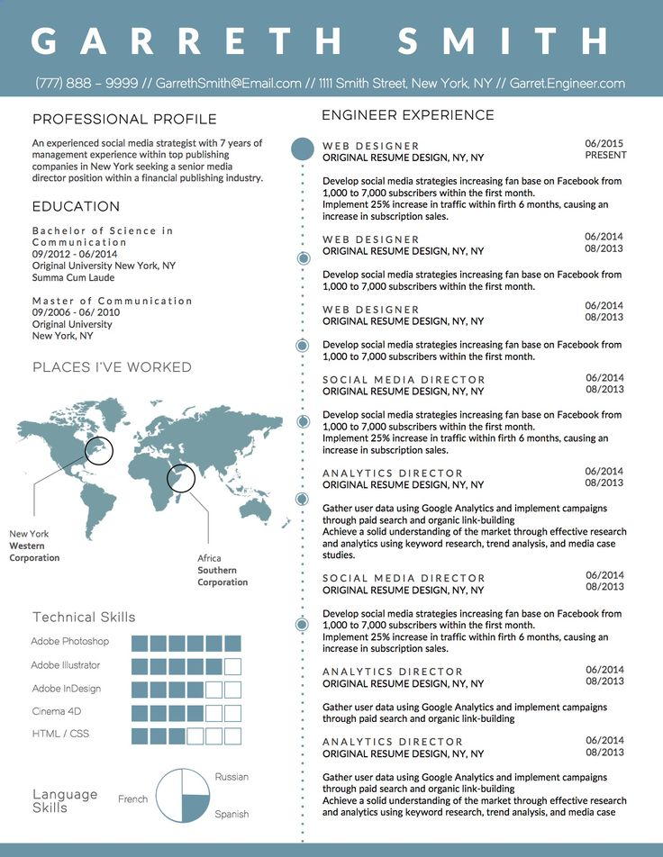 Best 25 Business Resume Ideas On Pinterest Resume Tips