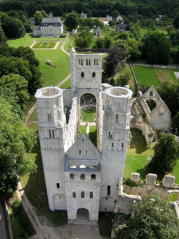✅ Abbaye Saint-Pierre de Jumièges (76)