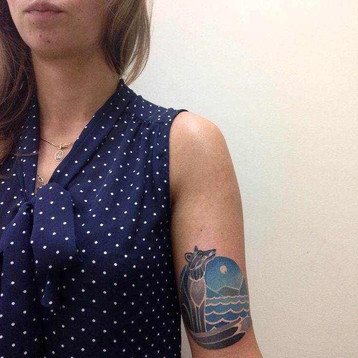 Немного холодных красок для Ани ❄️ #татуировка #тату #dayfordrawing #draw #dreams #day #myday #море #горы #сказка #синий #sea #tatts #tattoo #tattos #ink #inked #ilovemyjob #iloveit #knyazeva #knyazevatattoo #color #colortattoo #чернила #бью #будни #бараканапионерской #питер #спб #зима