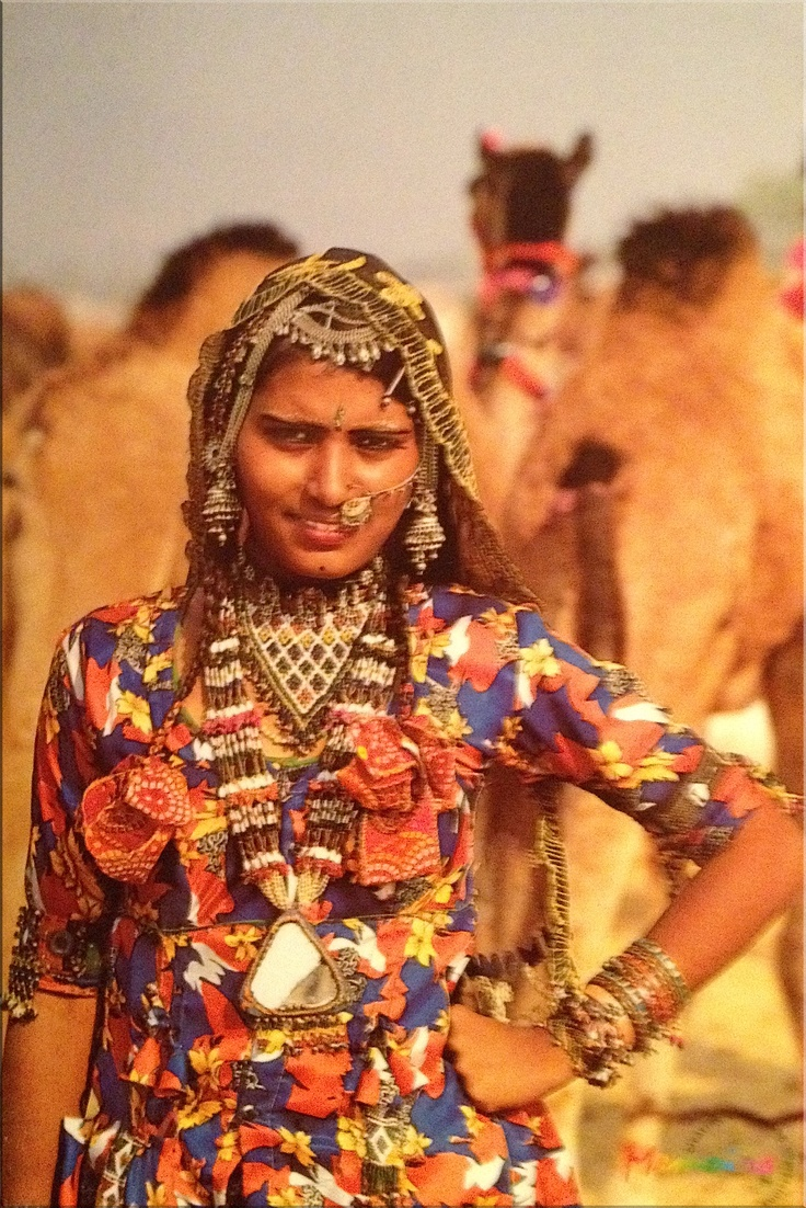 Rajasthan, India  Traditional Outfits, Tribal India -3823