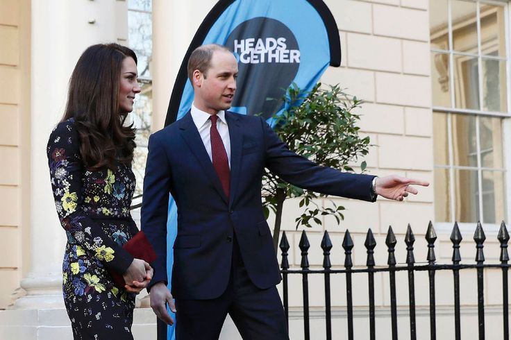 Britain's Catherine, Duchess of Cambridge and Britain's Prince William, Duke of Cambridge, leave the Institute of Contemporary Arts in central London on January 17, 2017 after attending a briefing to outline new agendas and aims for 2017 for the mental health charity Heads Together. Heads Together is a charity supported by the Duke and Duchess of Cambridge and Prince Harry that aims to tackle stigma and change the conversation on mental health. (Photo credit should read STEFAN…