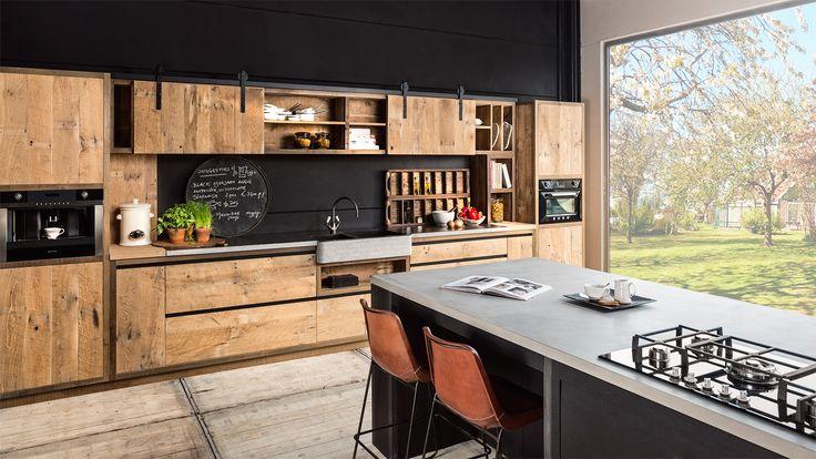 Woontheater - Massieve keukens