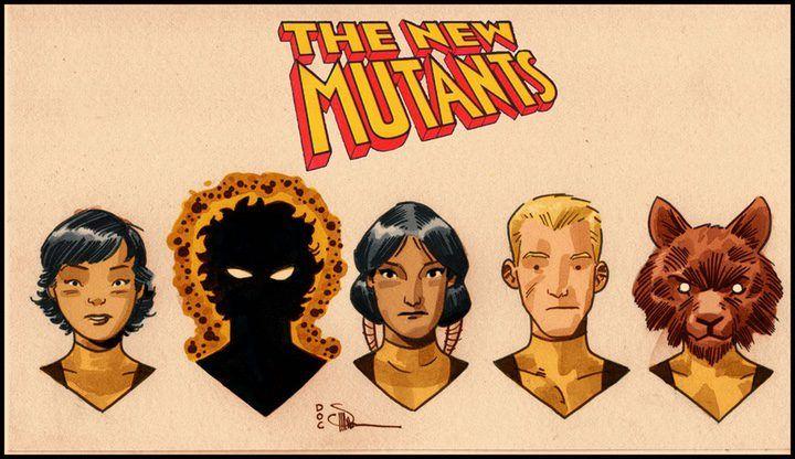 Los nuevos mutantes (The New Mutants en Estados unidos), también conocidos como Los Nuevos Mutantes, será una próxima película de superhéro...