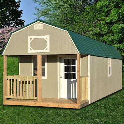 Painted lofted barn cabin texas best for Cheap metal building homes