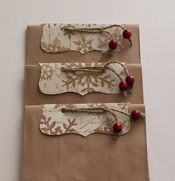 Christmas Gift Bag Perfect for Party Favors, Neighbor and Teacher Gifts by Jooner on Etsy https://www.etsy.com/listing/556732522/christmas-gift-bag-perfect-for-party