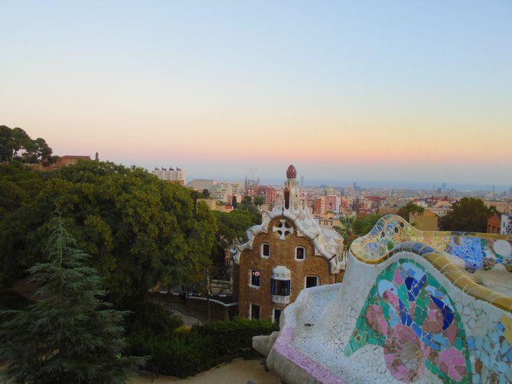 Barcelona:Park Güell