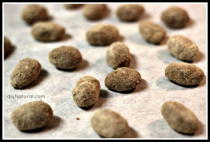 Homemade Herbal Throat Lozenges- make this simple, soothing lozenge.