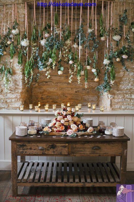 Wedding & Flowers | Flower decoration for the wedding – ideas # flowers_ wedding…