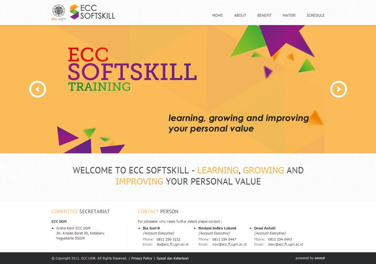 ECC UGM Softskill Training #FrontendDeveloper