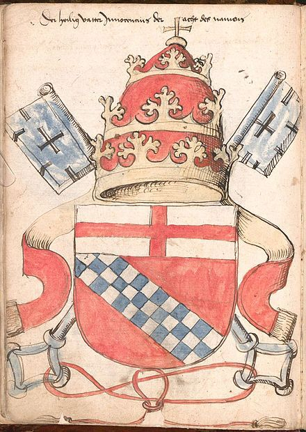 Pope's coat of arms and meanings