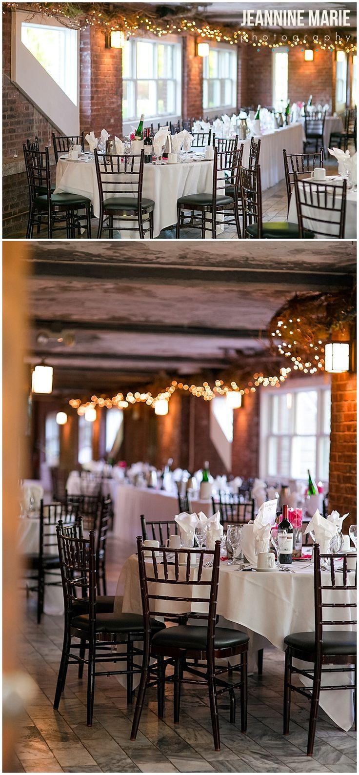 Wedding reception at Glensheen Mansion