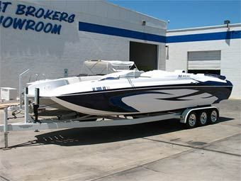 The Boat Brokers & RV (800) 488-0258 2006 28' Magic Deck Boat  -  $95,500