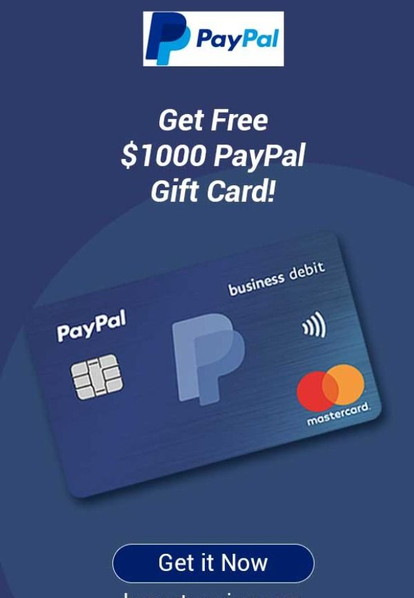 Paypal Gift Card Giveaway 100 Legit Online Giveaway Website