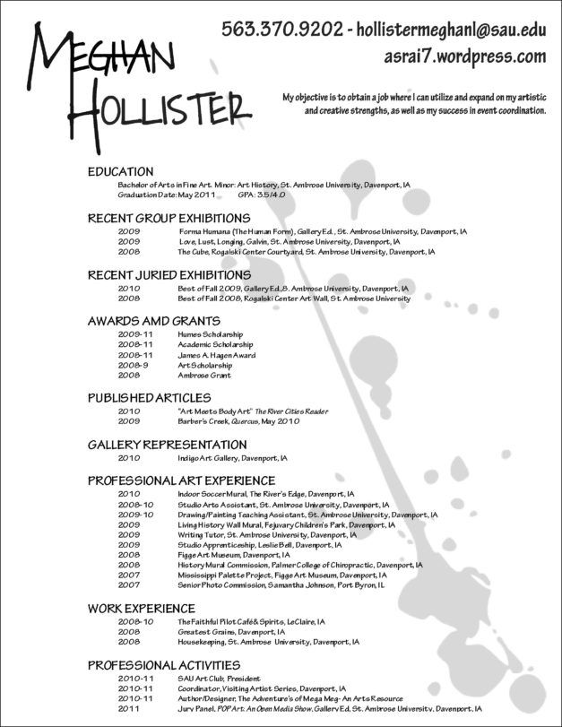 Resume Makeup Artist Cv Example Template Printable Painter Artist Cv Artist Resume Makeup Artist Resume