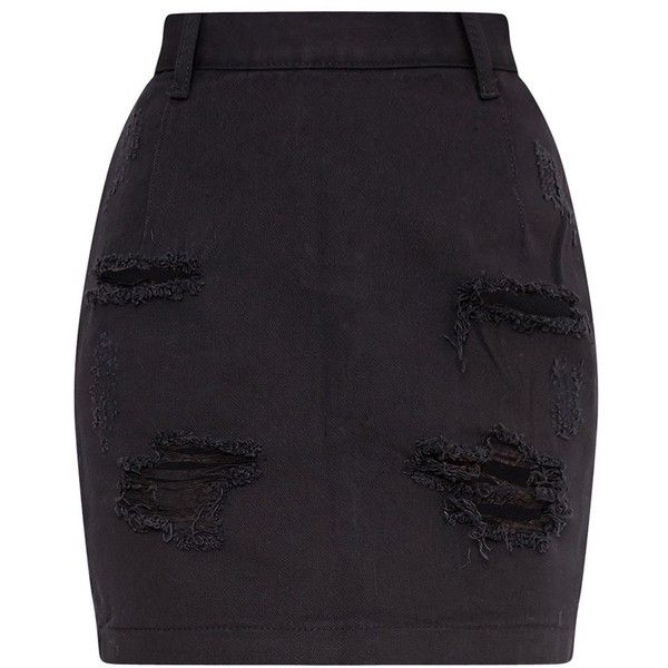 Best 20  High waisted denim skirt ideas on Pinterest | Denim mini ...