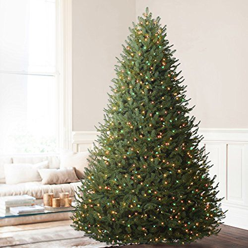 A Beautiful Replica Of The Balsam Fir Tree, This Balsam Fir Artificial Christmas  Tree Features Realistic Soft Needle Tips In A Natural Light Green Hue.
