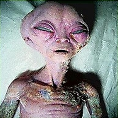 Moonstruck Madness: Creepy Alien Pictures.  No one could actually verify the actual sources or if they are GMO humans (my guess).  #aliens