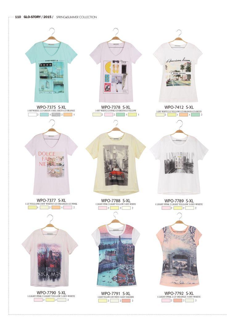 #forwomen #clothing #fashion #glostory #grey #white #fortraining #everydaywear #printed #tshirts #pink #blue #tropical