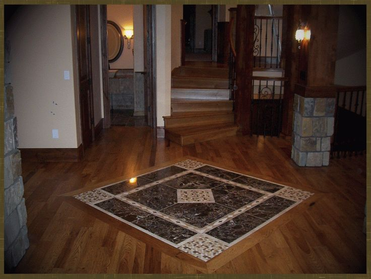 Kitchen Floor Wood Stain
