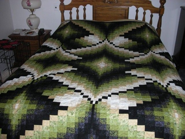 Diamond Jubilee Bargello Quilt - this would be YEARS down the road for me ;o)