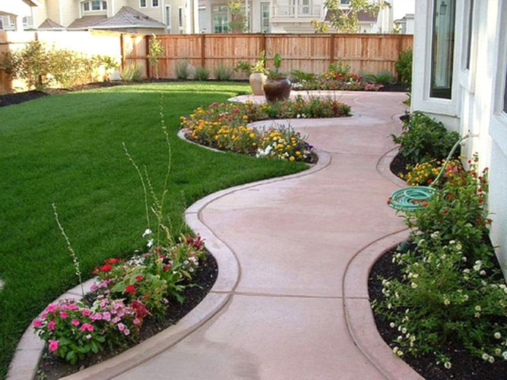 Flower Garden Ideas For Small Yards 556 best garden edging ideas images on pinterest | garden edging