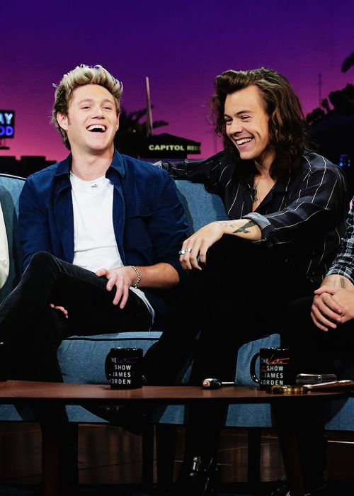 Narry on James Corden show