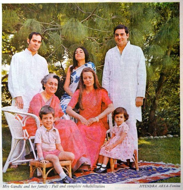 indira gandhi family - Google Search