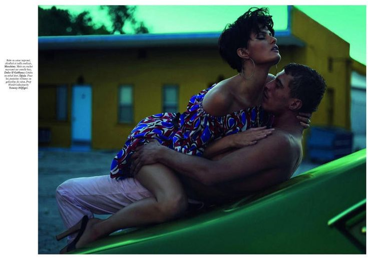 Summer Revisited – Mert & Marcus pay homage to a 1989 Steven Meisel shoot with their latest work for Vogue Paris' June-July cover shoot. Starring Isabeli Fontana as an oversexed beauty, the images celebrate what the French call canicule–a period of the hottest summer days. Styled by editor-in-chief Emmanuelle Alt in colorful pieces from the likes of Prada, Moschino and Emilio Pucci, Isabeli steams up M&M's lens with male model Clément Chabe