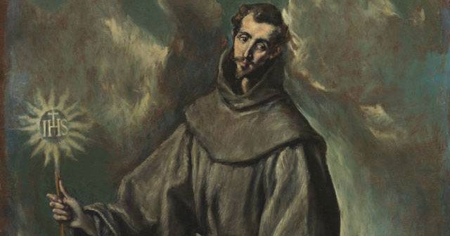 St. Bernardine of Siena (1380-1444) was  a Franciscan missionary, reformer, popular preacher, peacemaker, an is often called 'the Apostle of Italy.