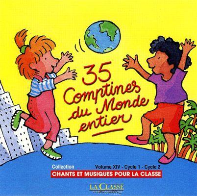 Emmenez les enfants de votre classe en voyage grâce aux 50 morceaux inédits présentés dans ce CD musical.