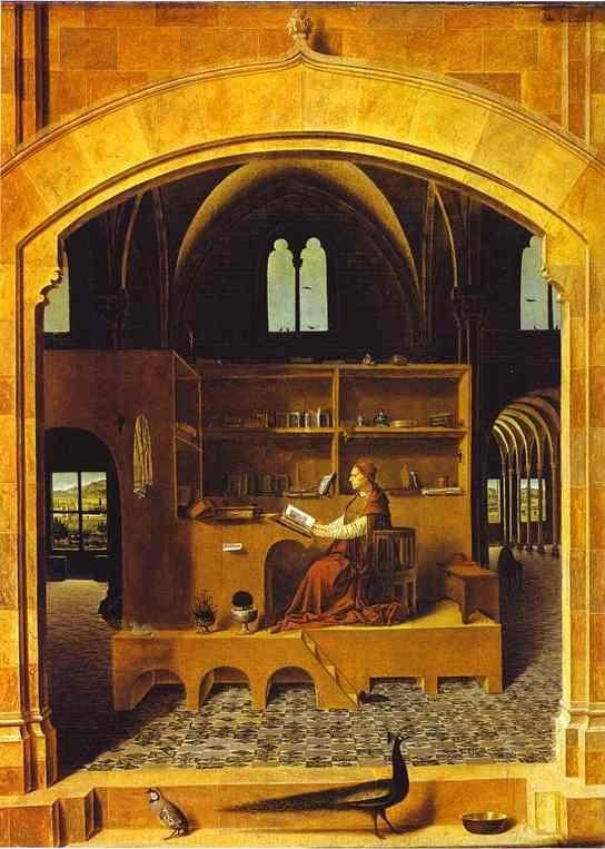 St. Jerome in His Study by Antonello da Messina