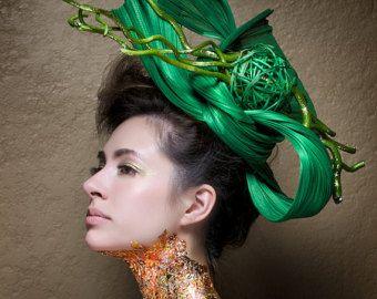 Kentucky Derby Hut Haute Couture Hut Headpiece von BoringSidney                                                                                                                                                                                 Mehr