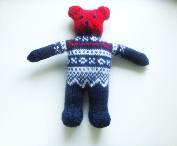 Teddybjørnen Maurice    SOLGT