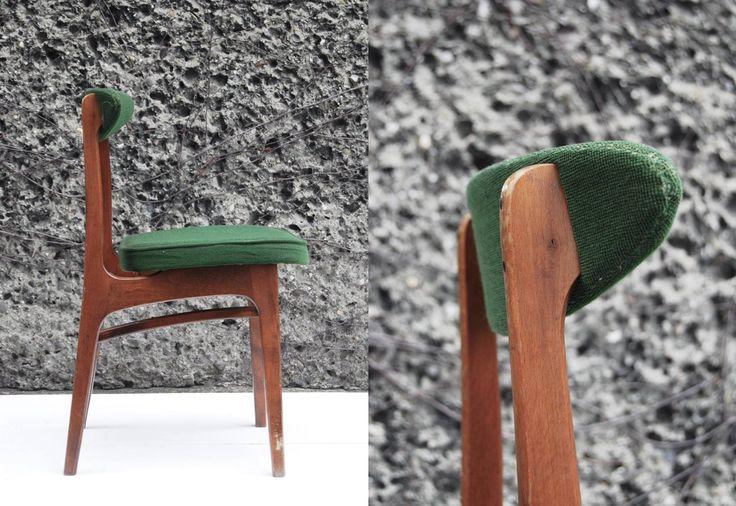 GŁUCHOŁASKIE FABRYKI MEBLI,  Krzesło typ 0/200-190, B lata 60/70. proj. Rajmund Hałas