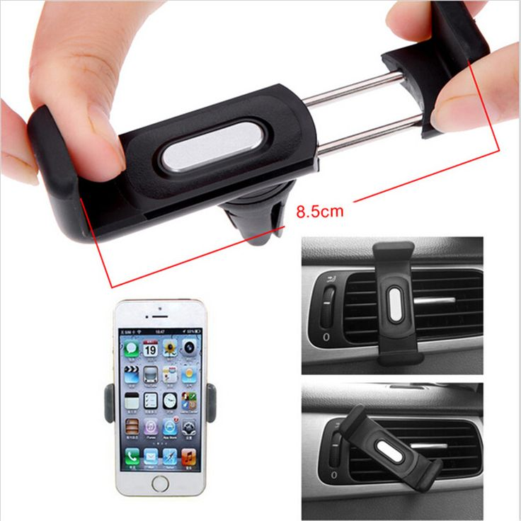 car holder stand Automobile air-conditioning outlet cellular phone support Car navigator bracket Suitable Mobile Phone Holders