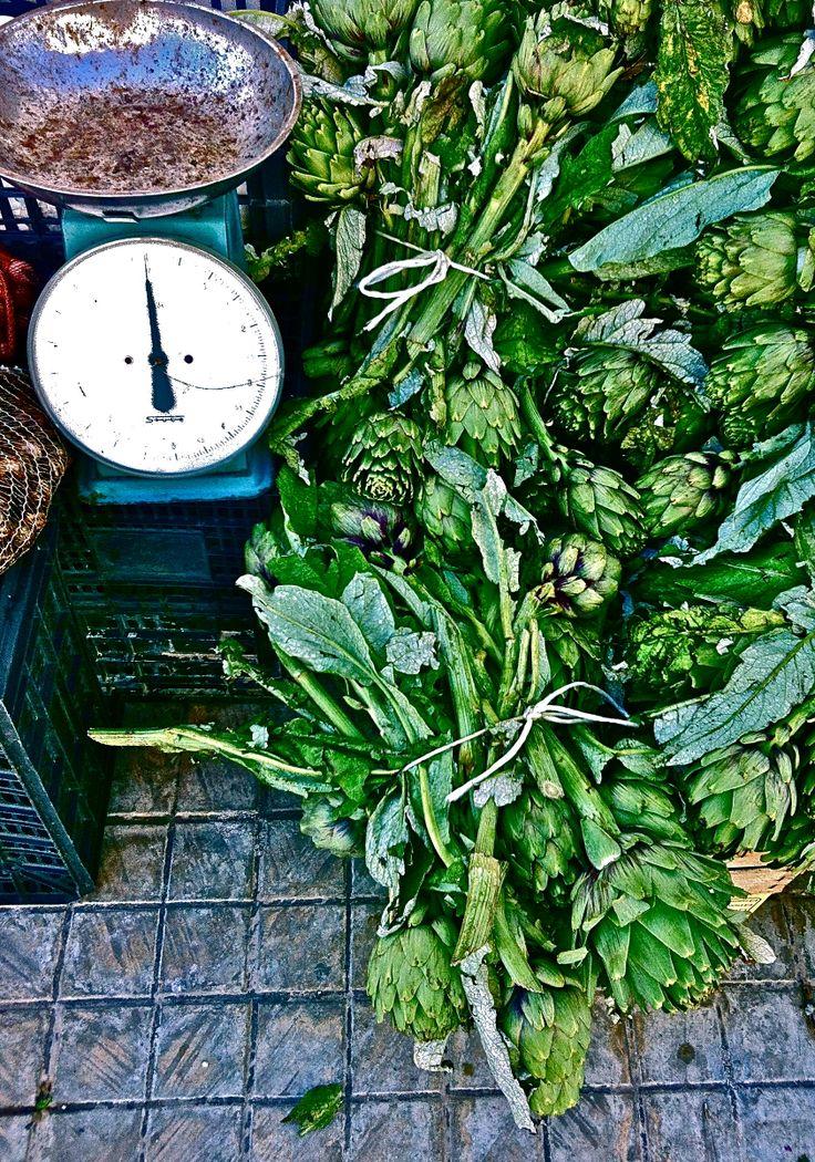 #sicily #market #fresh #artichoke