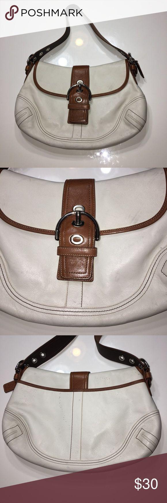 coach leather handbags outlet omv4  Authentic Coach leather handbag purse