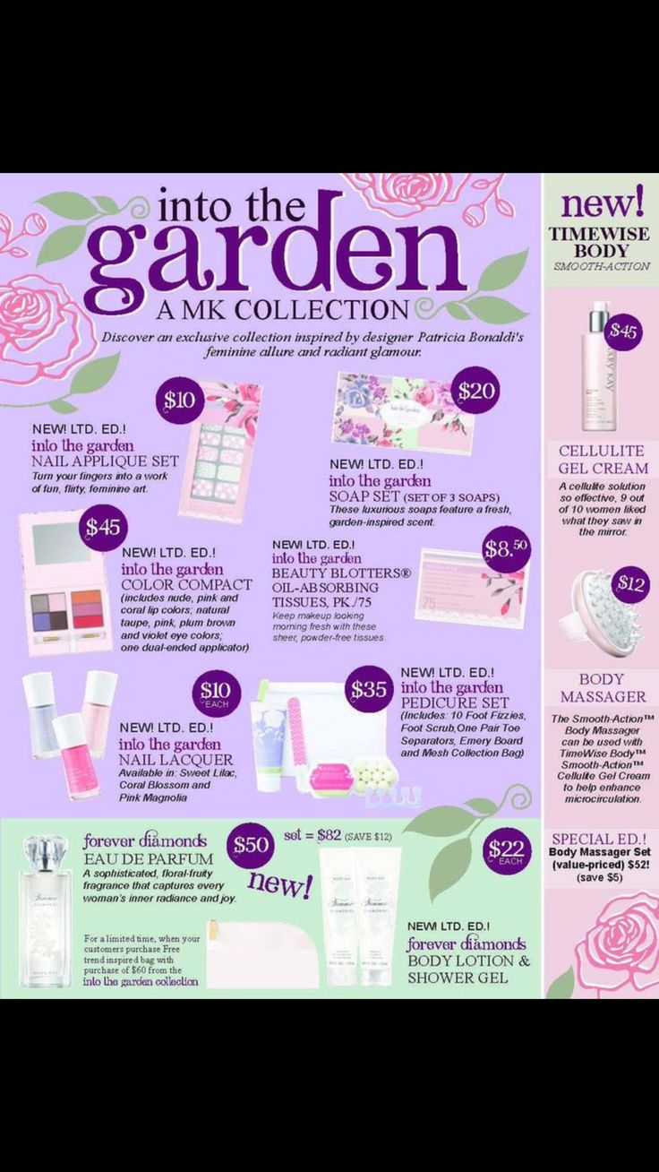 Mary kay sale flyer ideas - Mary Kay 2016 Spring Collection