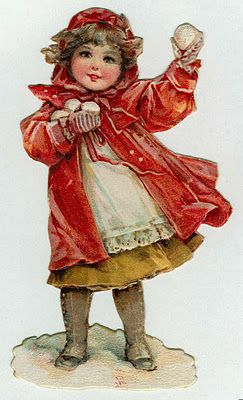 This site has TONS of gorgeous   Vintage Christmas art, mostly children or…