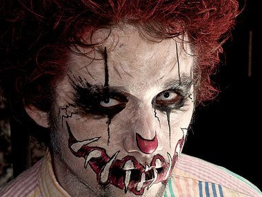 Part monster, part mime, part clown... All Creepy!  / Pairs well with some white FX contacts: http://www.pinterest.com/pin/350717889705763104/