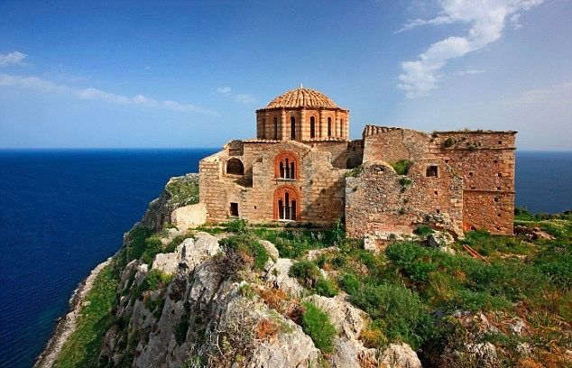Byzantine Church of Agia Sophia, Monemvasia, Greece