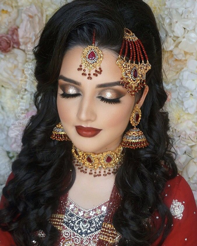 17 Best Ideas About Indian Bridal Makeup On Pinterest | Indian Makeup Indian Wedding Makeup And ...