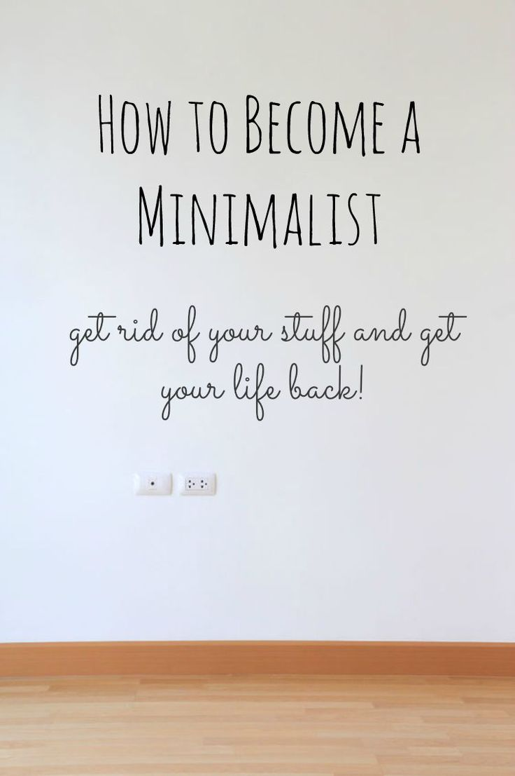If you are thinking about becoming a minimalist, we speak from our own experience!