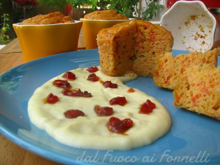 tortino con peperoni e formaggio con peperoncino caramellato_ricetta lievitato