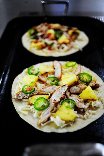 Grilled Chicken & Pineapple Quesadilla | Recipe | Bbq ...