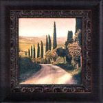 Tuscan Wall Art Framed Tuscan Artwork
