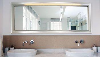 54 best images about beautiful bathroom mirrors on pinterest powder room design modern. Black Bedroom Furniture Sets. Home Design Ideas